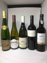 Lot 2 - Reisling, Cheverny, CNdP, Cain, Port
