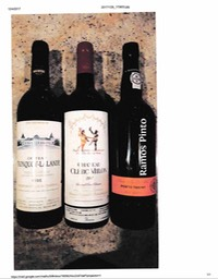 Lot 5 - Pauillac, St Estphe, Port